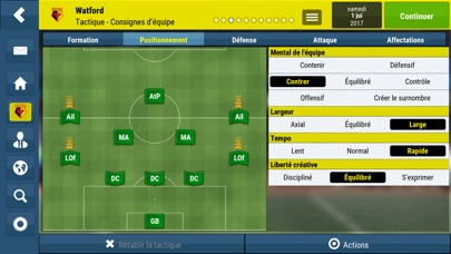 Screenshot #2 pour Football Manager Mobile 2018