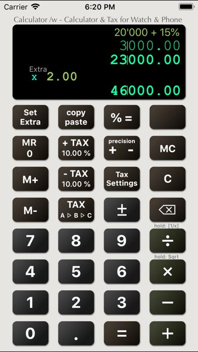 Calculator /w