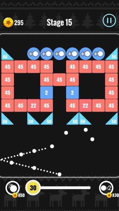 Crazy Brick Hit - Fire Block Screenshot on iOS