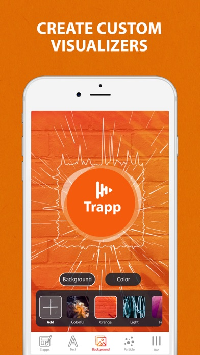 Trapp - Music Visualizer for Pc - Download free Music app