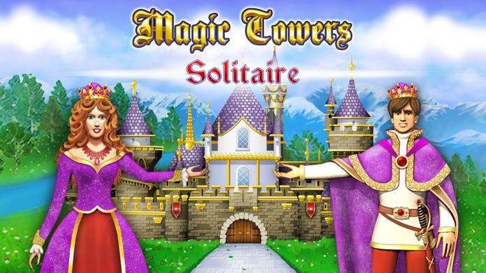 Magic Towers Solitaire Screenshot