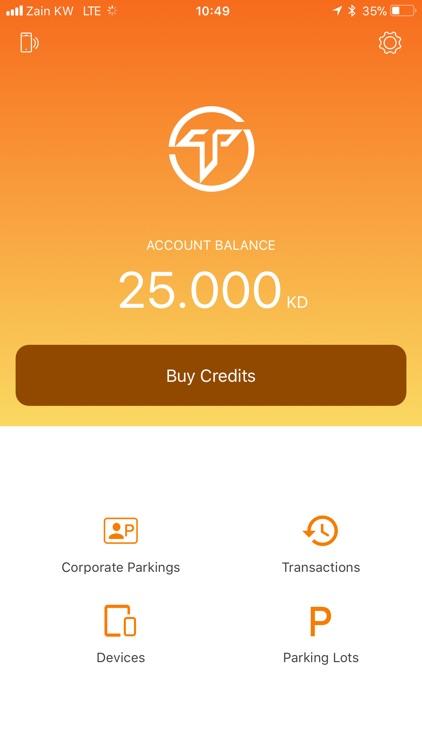Token Parking App