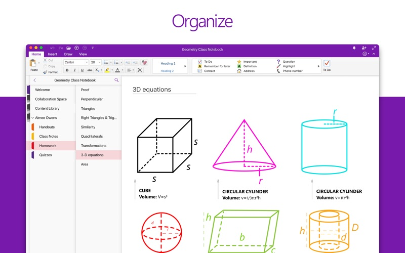 Microsoft OneNote iPhone