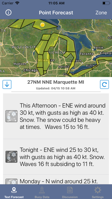 Great Lakes Boating Weather screenshot 9