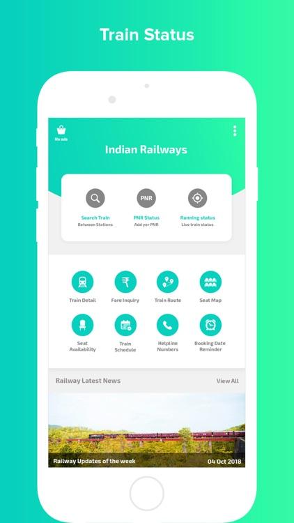 Indian Railway - Train PNR