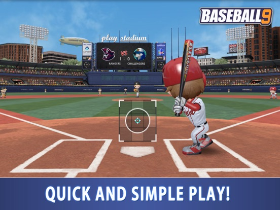 BASEBALL 9 на iPad