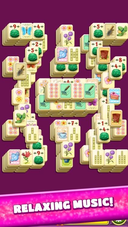 Mahjong Spring Flower Garden screenshot-6