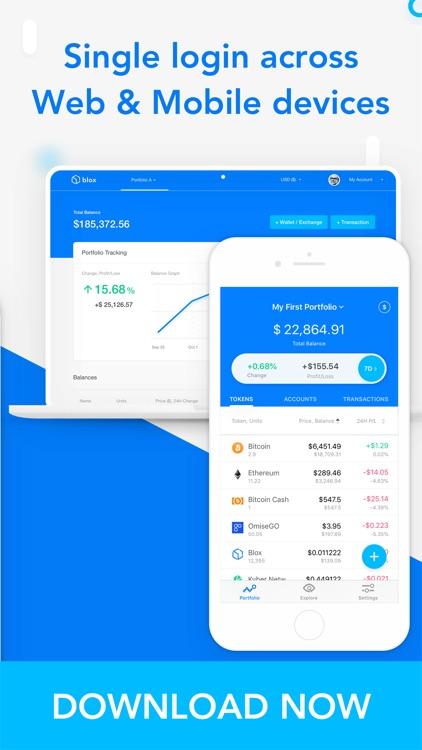 Blox Crypto Portfolio Tracker screenshot-4