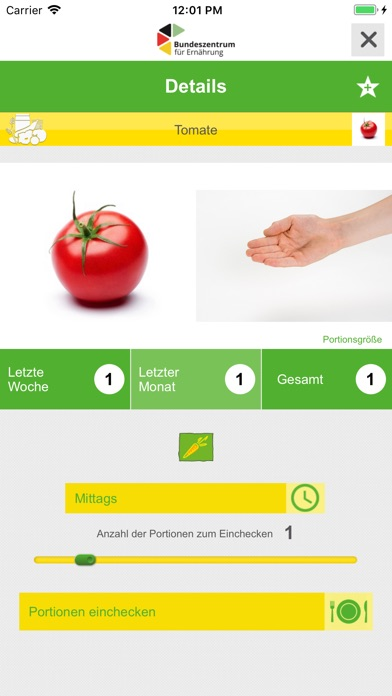 Screenshot for Was ich esse in Germany App Store