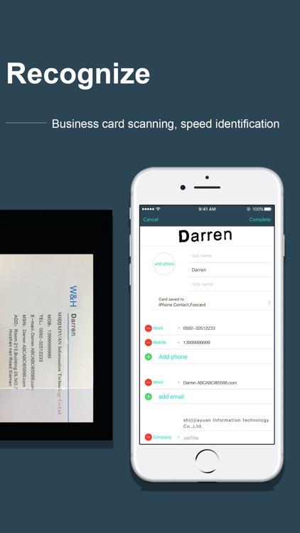FoxCard-Business Card reader screenshot-4
