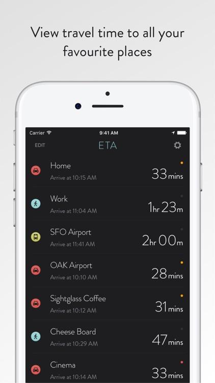 ETA - Arrive on time screenshot-0