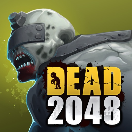 Fend off the undead hordes in Dead 2048, the world's first 2048 Tower Defense game