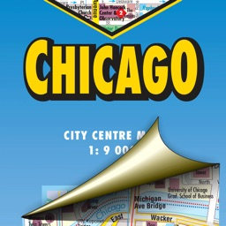 Chicago. City map