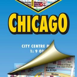 Chicago. City map