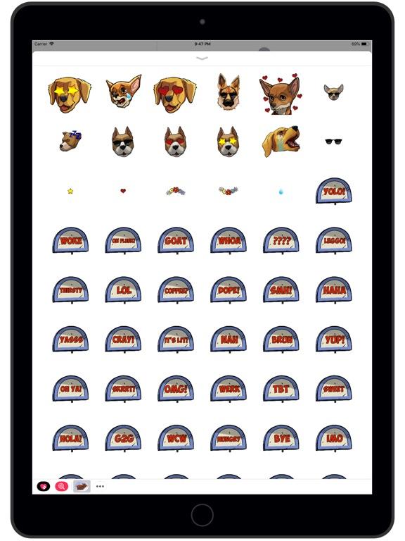 Screenshot #3 for Get 'Em Stickers
