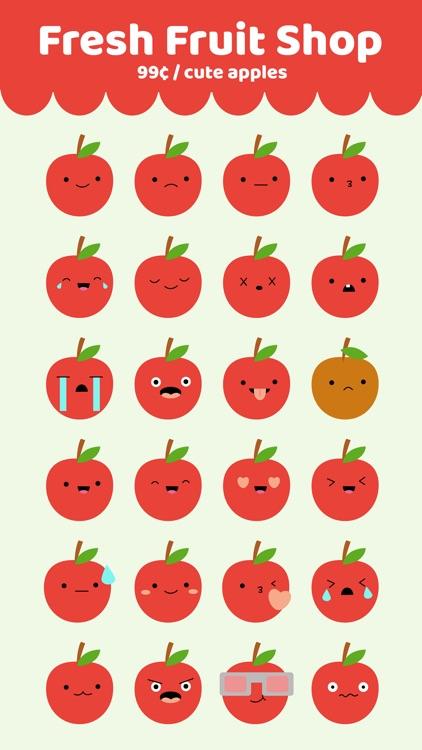 Cute Apple Stickers