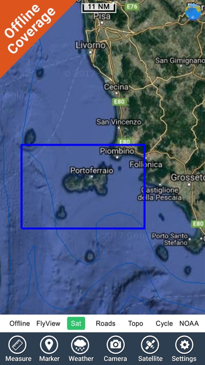 Isola d'Elba - GPS Map Navigator screenshot-4