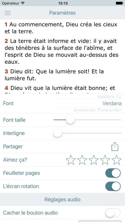 La Bible Louis Segond + Audio screenshot-4