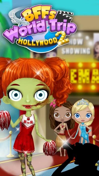 BFF World Trip Hollywood 2 - No Ads screenshot 1