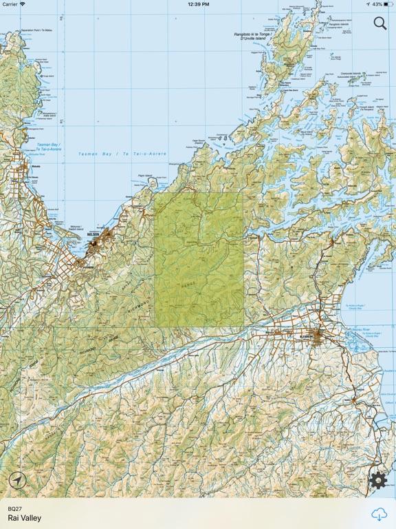 New Zealand Topographic Map.Nz Topo Maps App Price Drops