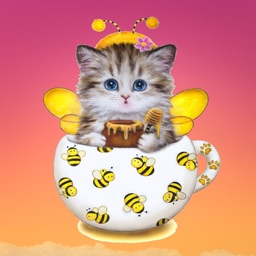 Cats and Coffee Stickers