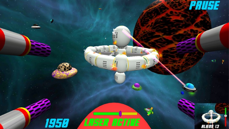 Super Space Laser screenshot-3