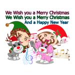 Christ Mas - New Year Stickers