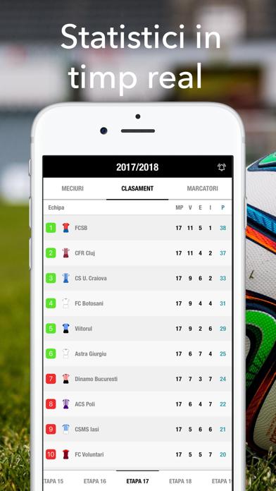 Fotbal Romania Live - Liga 1 screenshot two