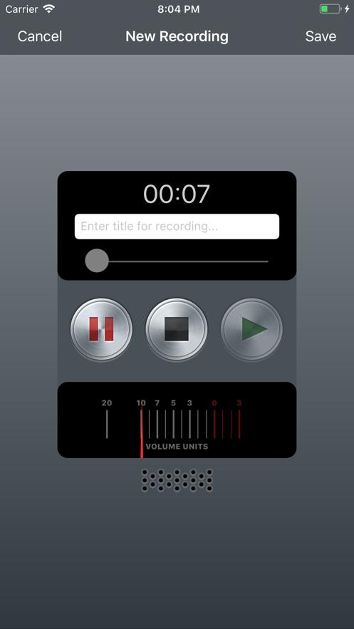 Record - Voice Recorder App 截图