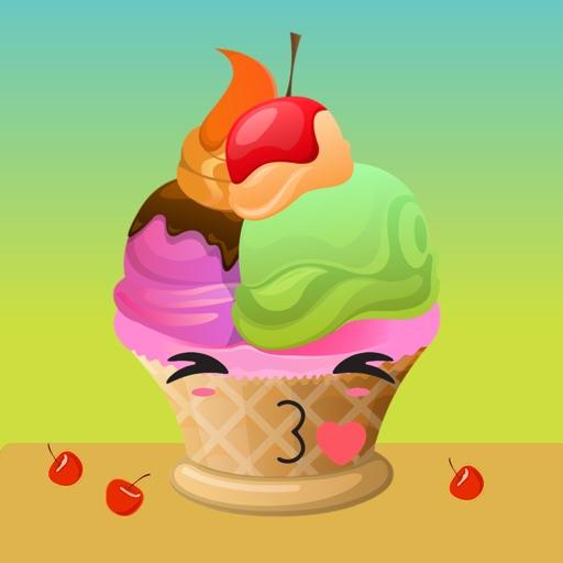 Sweet Summer Ice Cream Stickers
