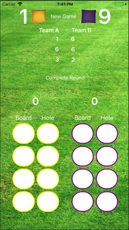 Le Cornhole Score