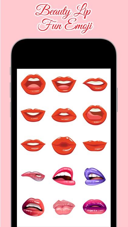 Beauty Lip Fun Emoji