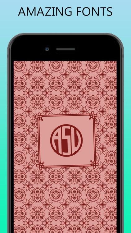 Custom Monogram Maker screenshot-3