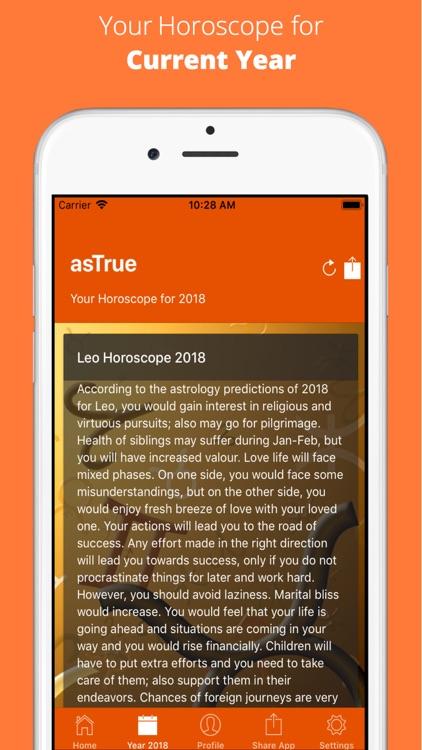 AsTrue - Daily Horoscope screenshot-3