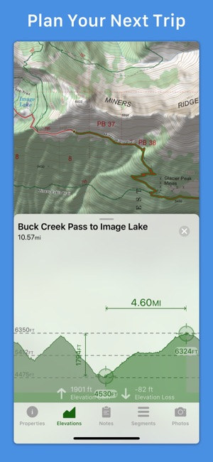 Topo maps on the app store screenshots gumiabroncs Gallery