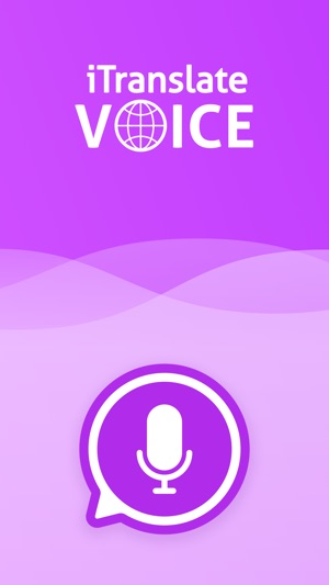 iTranslate Voice Screenshot