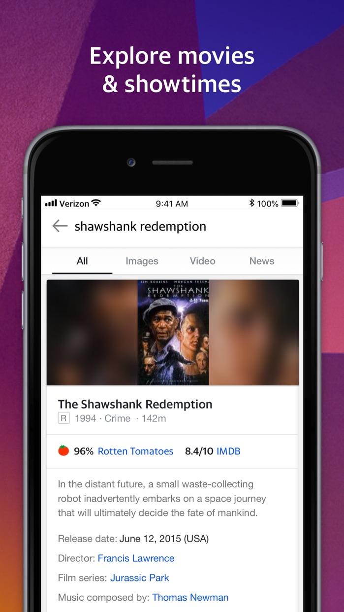 Yahoo Search Screenshot