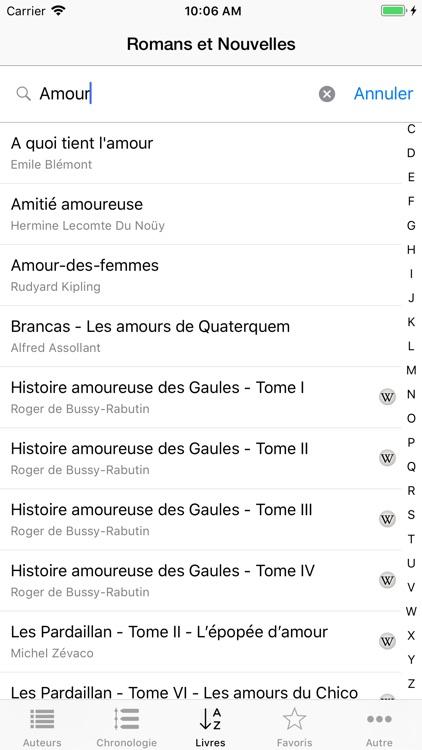 1875 Books in French (Novels) screenshot-4