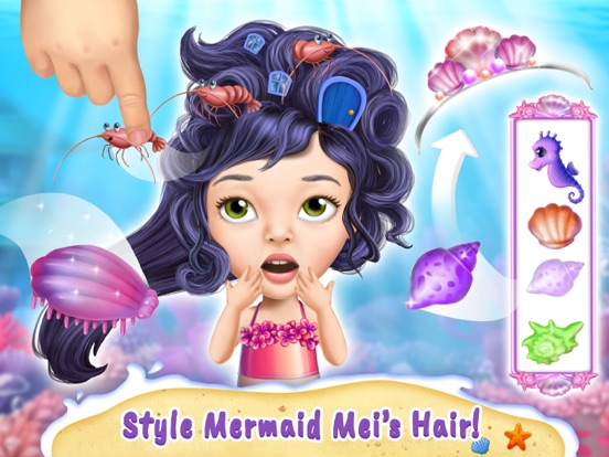 Sweet Baby Girl Mermaid Life screenshot 8
