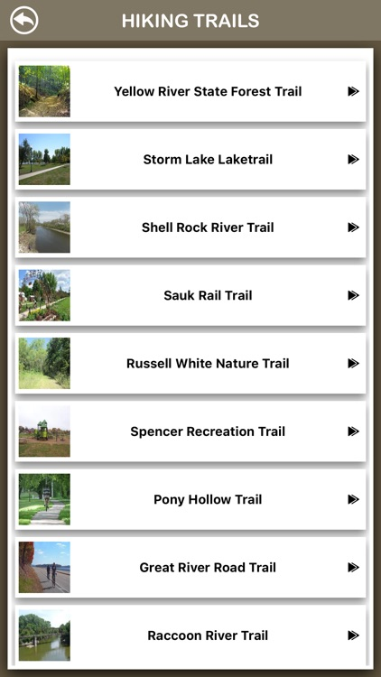 Iowa Hiking Trails screenshot-2
