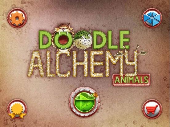 Алхимия на бумаге Животные на iPad