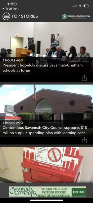 Savannah Morning News Mobile on the App Store