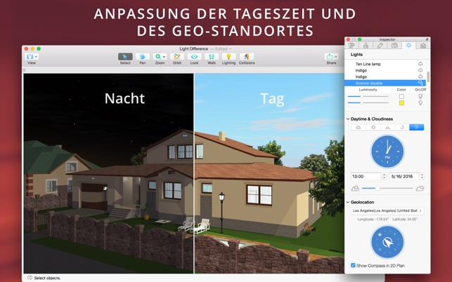 Sweet Home 3d Fußboden Farbe ~ Live home 3d im mac app store