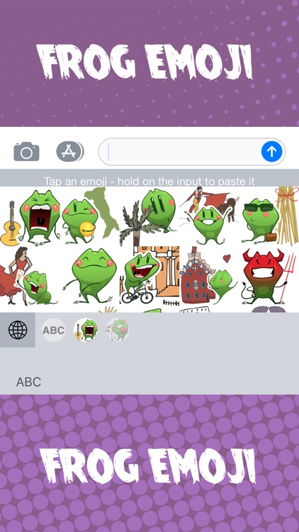 Travel Frog - Emoji Keyboard screenshot-5