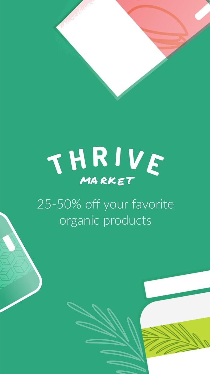 Thrive Market - shop healthy Screenshot