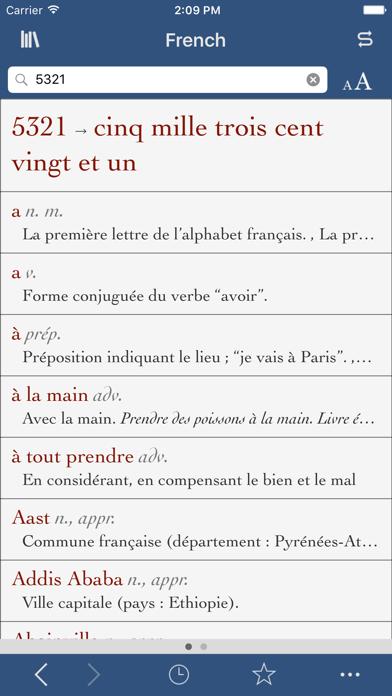 Ultralingua French screenshot three