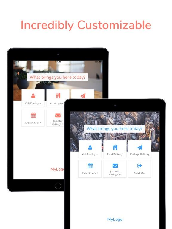 Image of Greetly · Digital Receptionist for iPad