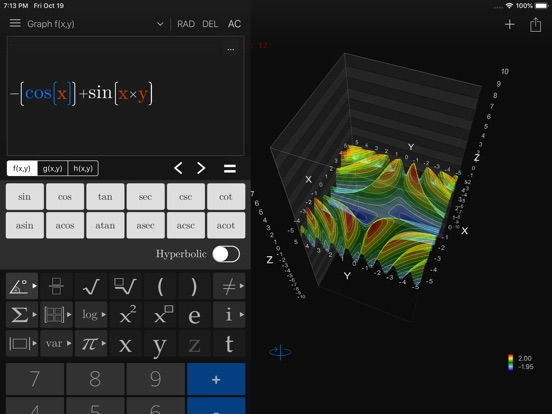 Screenshot #4 pour Visual Math 4D