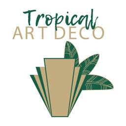 Tropical Art Deco