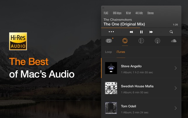 Vox Mp3 Amp Flac Music Player On The Mac App Store